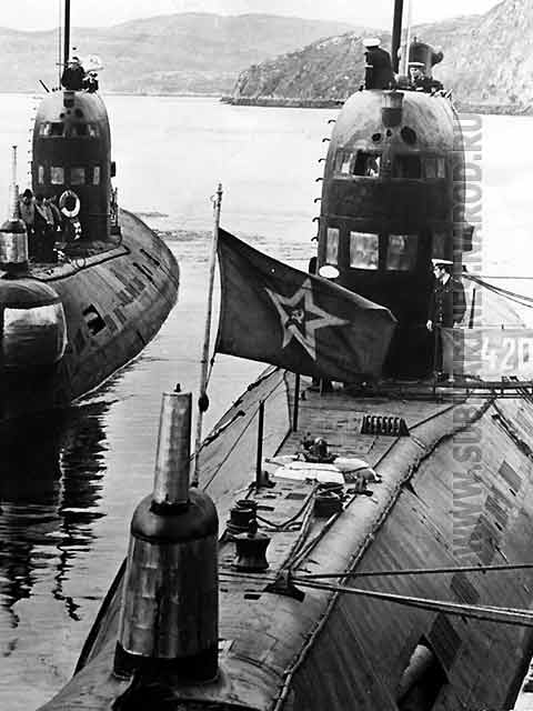 Russian submarines 9