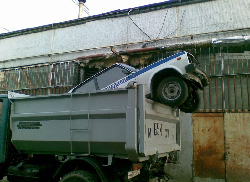 Russian police cars 1