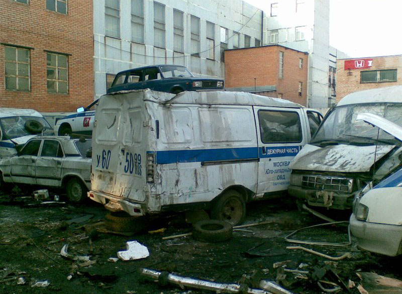 Russian police cars 2