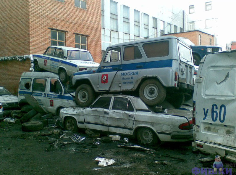 Russian police cars 3