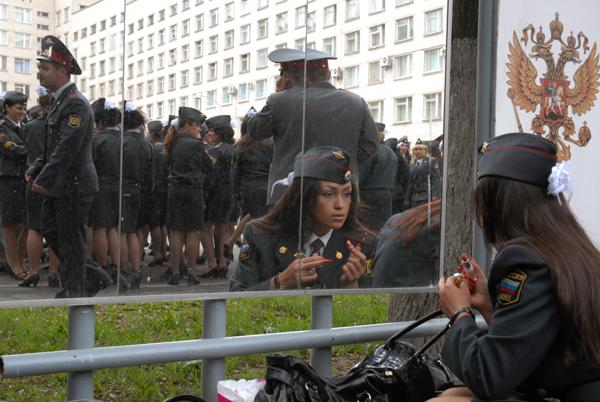 Russian police academy graduation, photo by T. Kotova