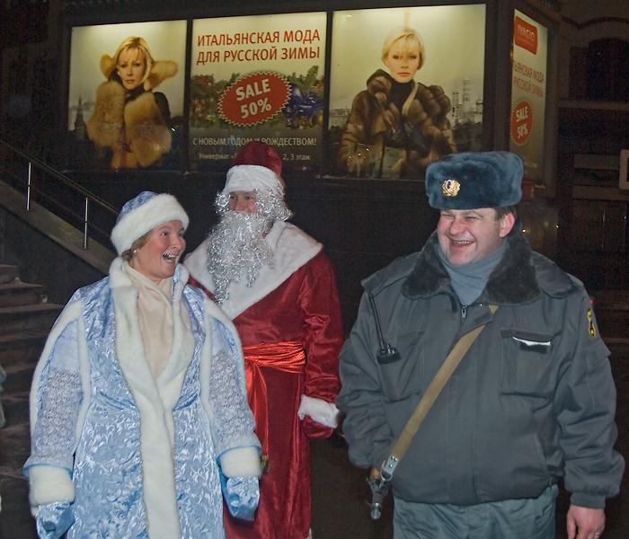 Santa is so funny!, photo by V. Oknianski