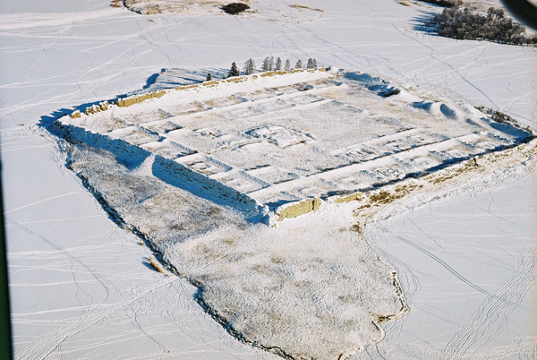 ancient Russian fortress on the island 12