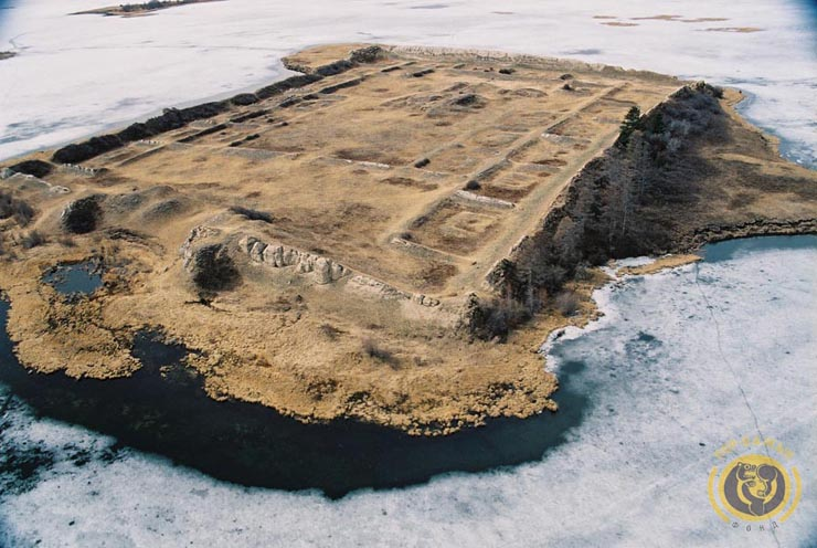 ancient Russian fortress on the island 22