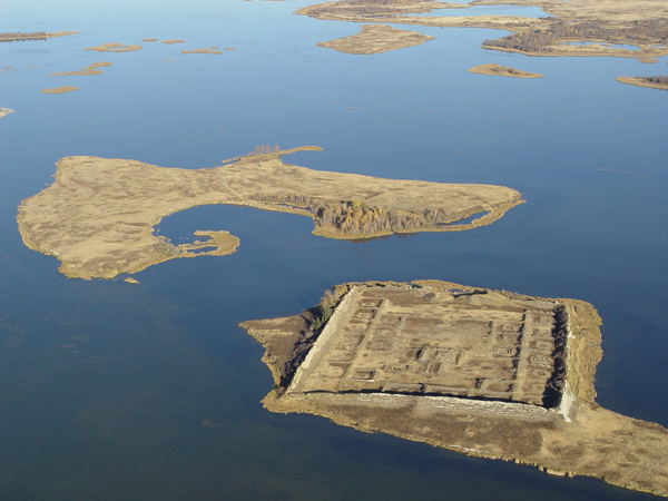 ancient Russian fortress on the island 3