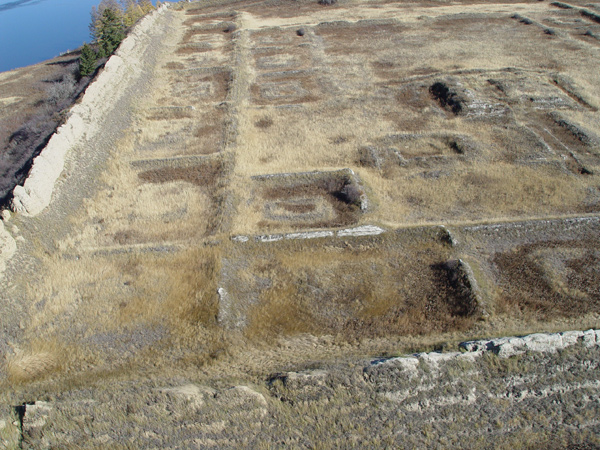 ancient Russian fortress on the island 9