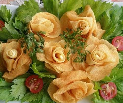 Russian recipe - potato roses 11
