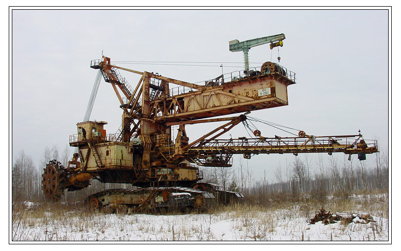 Russian abandoned machinery 2