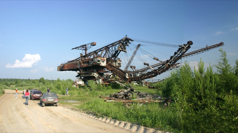 Russian abandoned machinery 3