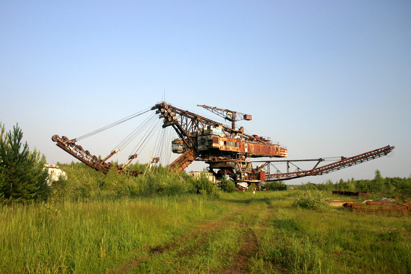 Russian abandoned machinery 6