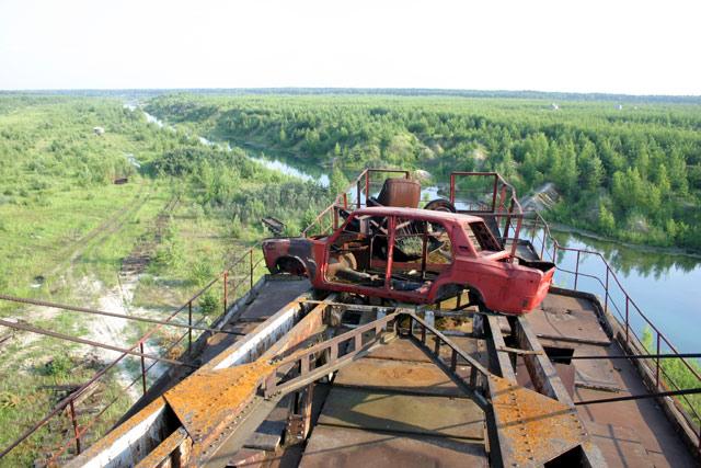 Russian abandoned machinery 8