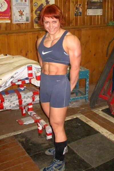 powerliftin Russian girl 3