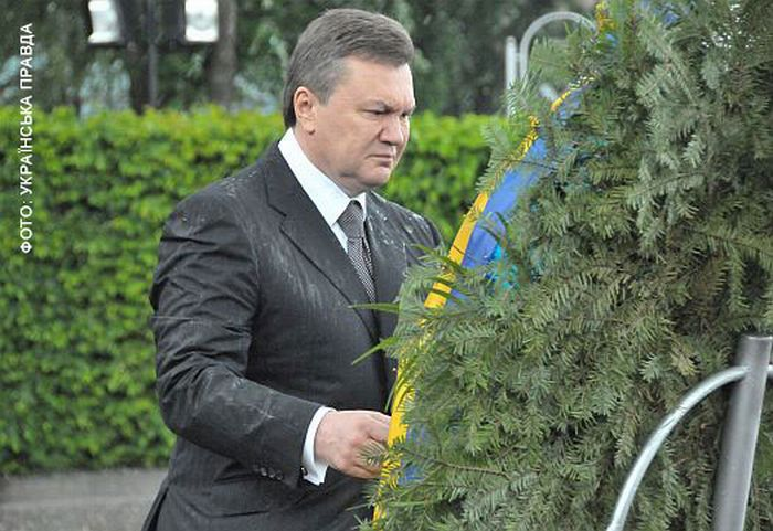 President of Ukraine Attacked By a Wreath 1