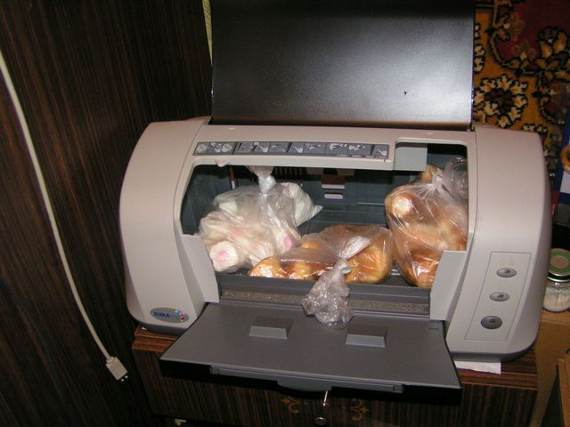 bread basket from a printer