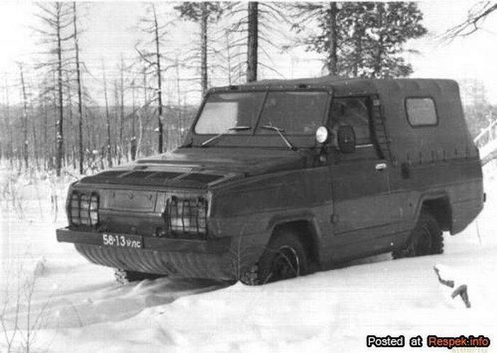 Prototype of the Russian Zaporozhets 966 21