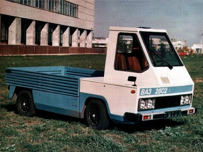 Prototype of the Russian Zaporozhets 966 25