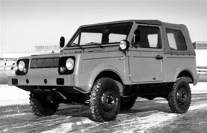 Prototype of the Russian Zaporozhets 966 28