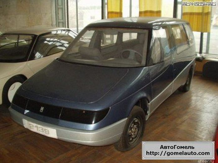 Prototype of the Russian Zaporozhets 966 4