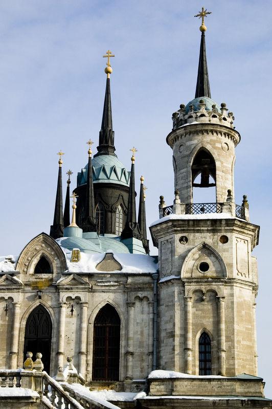 Russian goth church