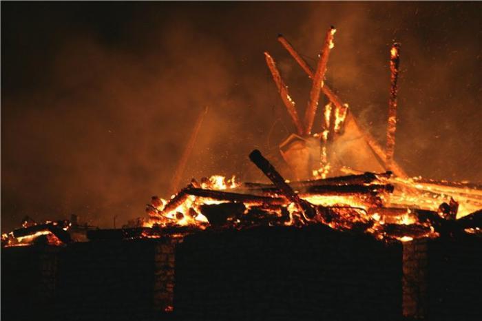 Pskov Citadel In Fire 1