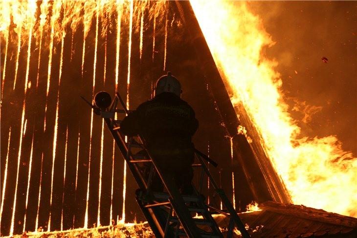 Pskov Citadel In Fire 12