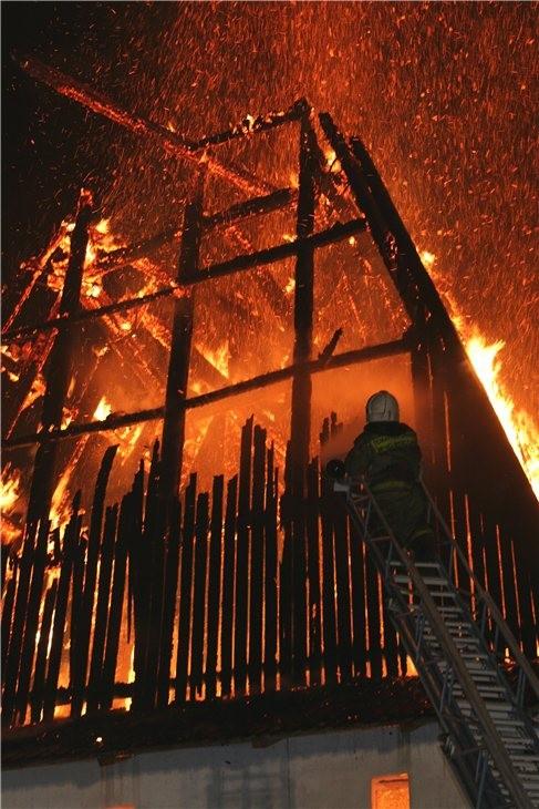 Pskov Citadel In Fire 14