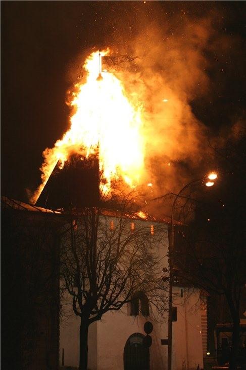 Pskov Citadel In Fire 16