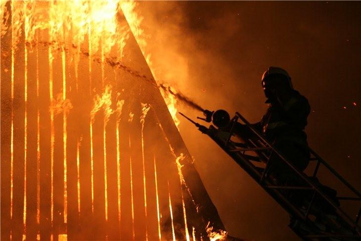 Pskov Citadel In Fire 18