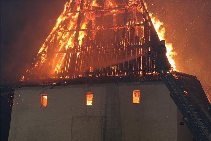 Pskov Citadel In Fire 20