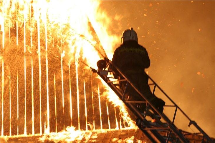 Pskov Citadel In Fire 21