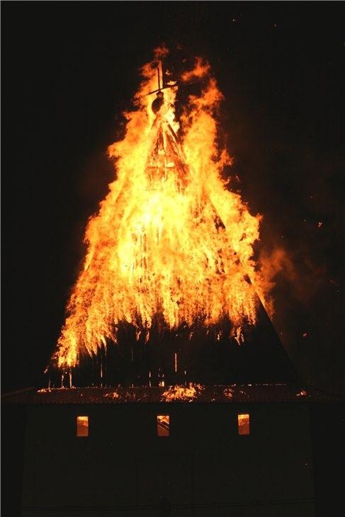 Pskov Citadel In Fire 3