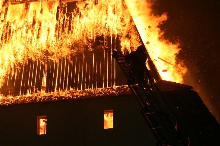 Pskov Citadel In Fire 7