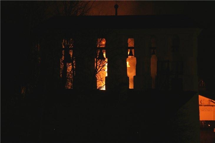 Pskov Citadel In Fire 8