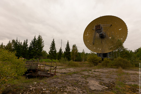 Radar of the Space Communication Center and Grebnyovo Estate 1