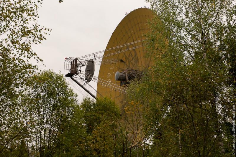 Radar of the Space Communication Center and Grebnyovo Estate 13