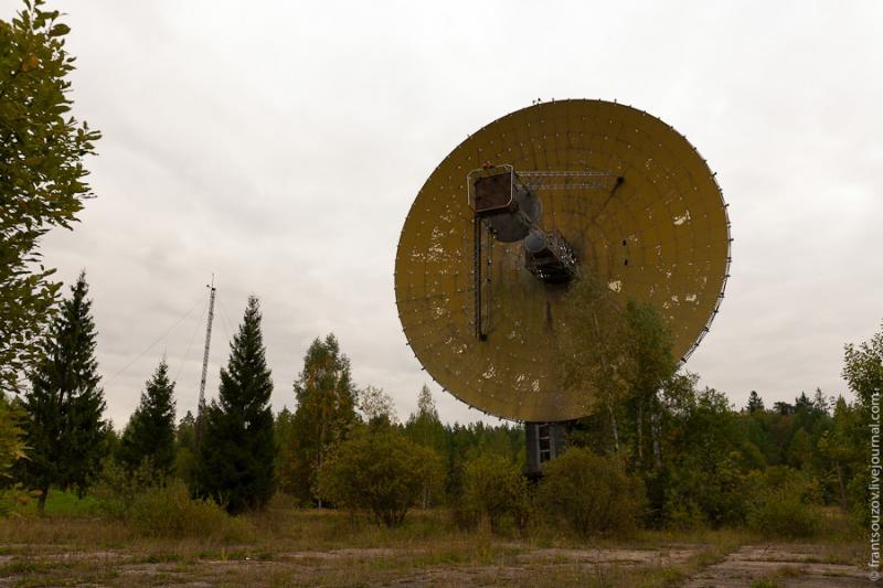 Radar of the Space Communication Center and Grebnyovo Estate 14