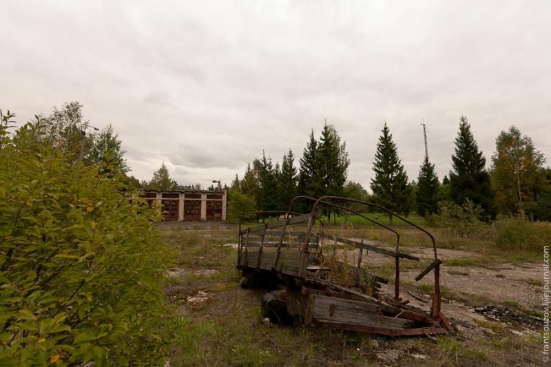 Radar of the Space Communication Center and Grebnyovo Estate 15
