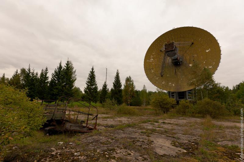 Radar of the Space Communication Center and Grebnyovo Estate 16