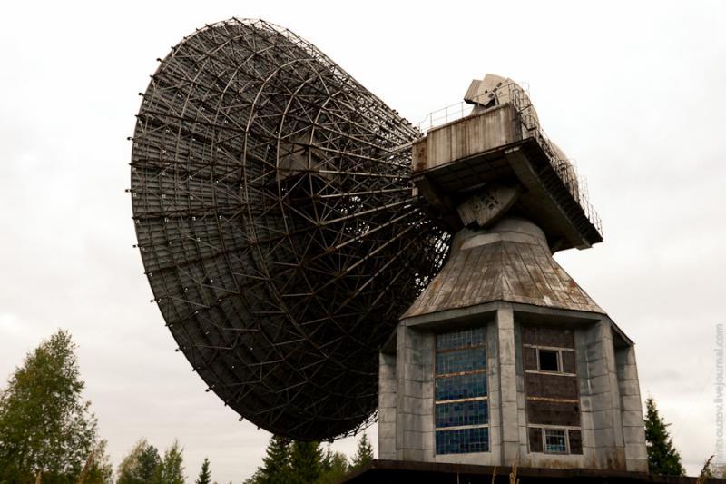 Radar of the Space Communication Center and Grebnyovo Estate 17