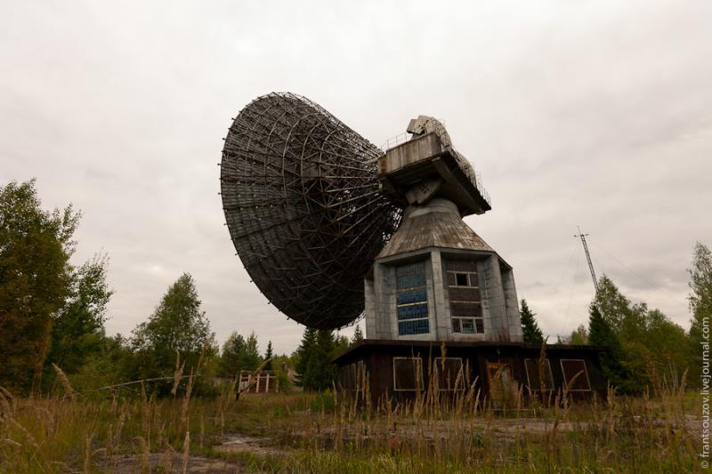 Radar of the Space Communication Center and Grebnyovo Estate 18