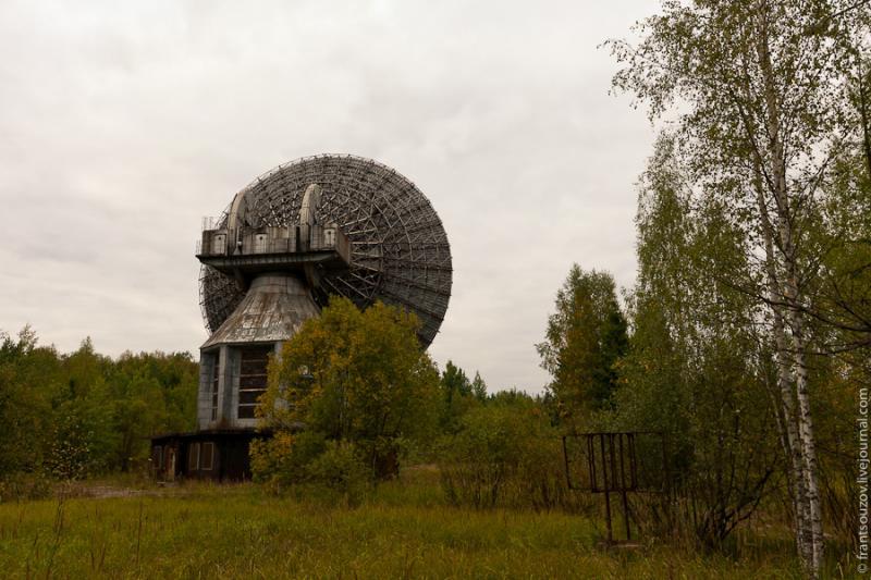 Radar of the Space Communication Center and Grebnyovo Estate 19
