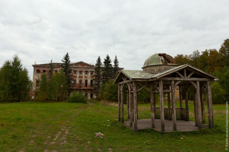 Radar of the Space Communication Center and Grebnyovo Estate 20