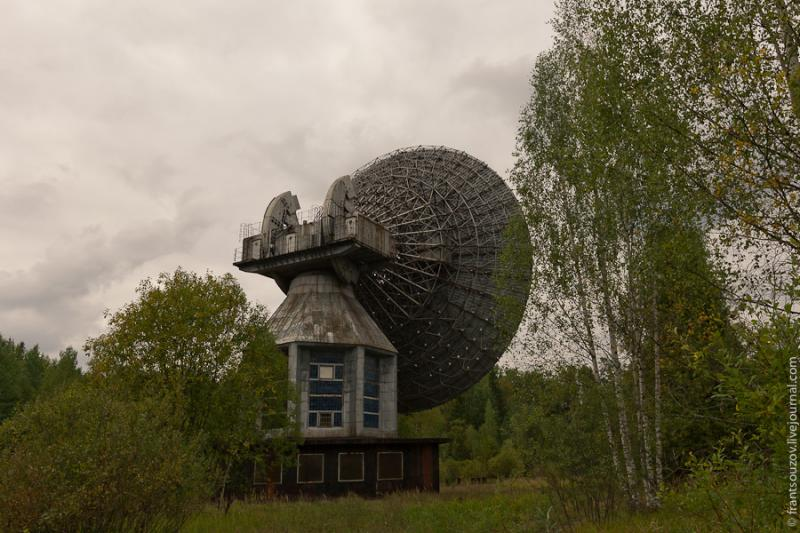 Radar of the Space Communication Center and Grebnyovo Estate 5