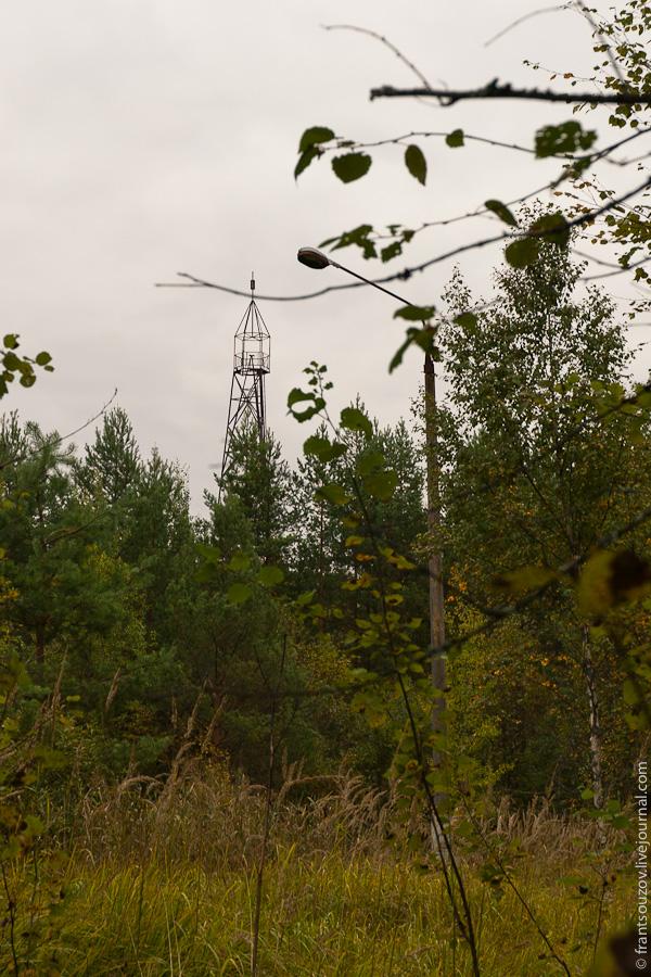 Radar of the Space Communication Center and Grebnyovo Estate 8