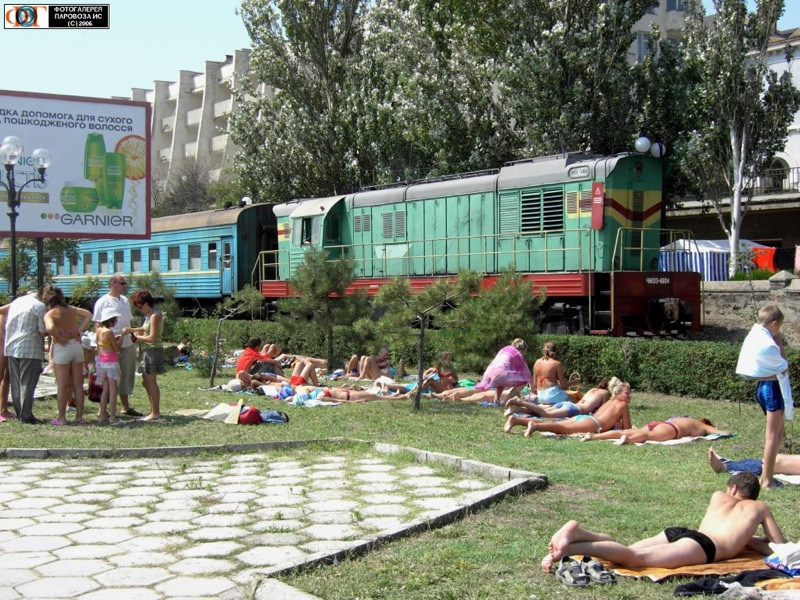 Russian trains in Russian cities in Russia