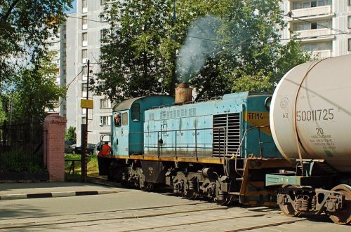 Russian trains in Russian cities in Russia 7