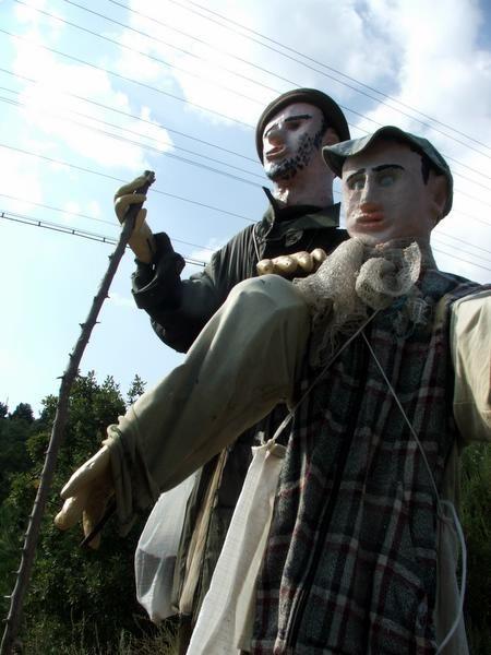 strange russian sculptures
