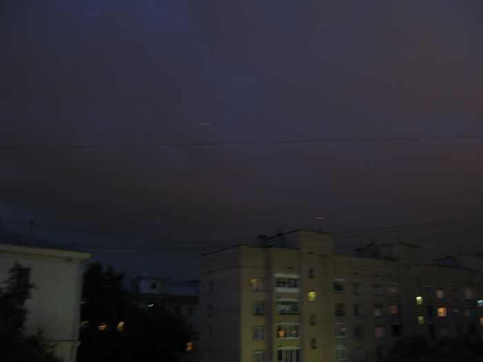 red flying dots on Moscow skies 10