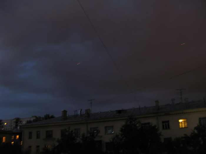 red flying dots on Moscow skies 8