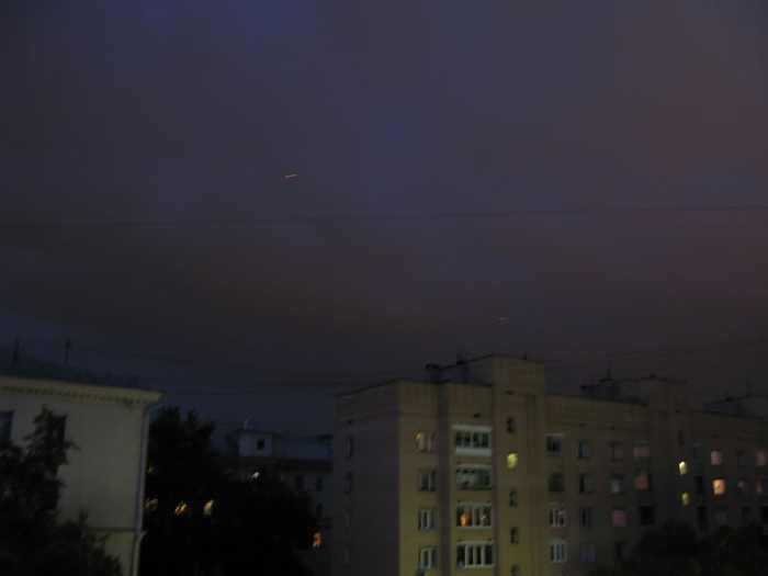 red flying dots on Moscow skies 9